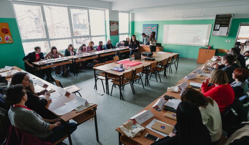 VGTU KIF atstovai dalyvavo medijų mokymuose Šiaurės Makedonijoje
