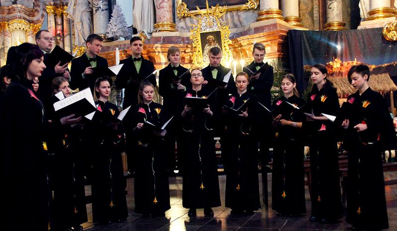 VGTU akademinis choras surengė koncertą buvusio vadovo Felikso Viskanto gimimo metinėms paminėti