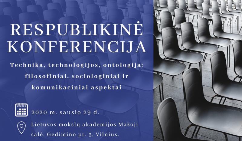 """Vyks respublikinė konferencija """"Technika, technologijos, ontologija"""""""