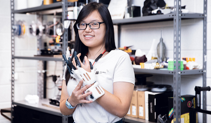 Young engineer from Malaysia challenged herself for an internship in Lithuania