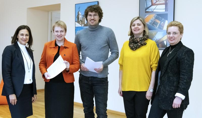 """Kūrybinių industrijų studentai galės mokytis """"The Atomic Garden Vilnius"""""""