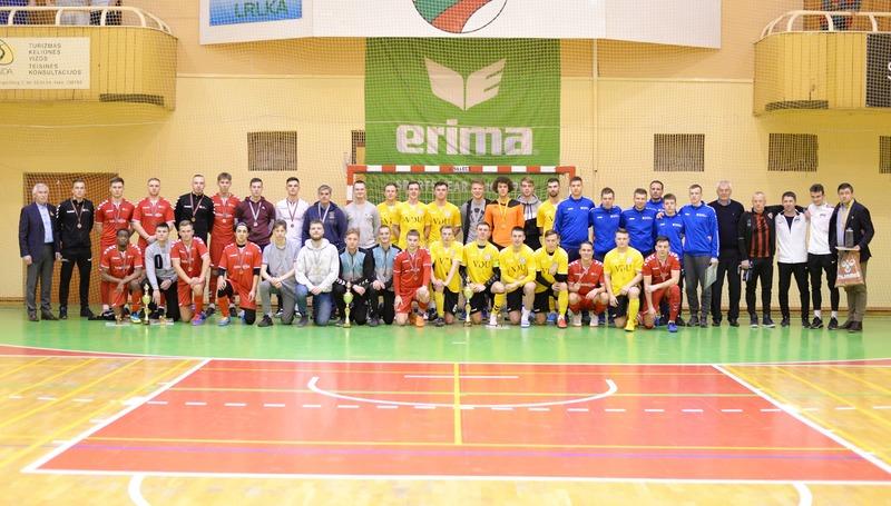 LSFL salės futbolo čempionato finale VGTU užėmė 4 vietą