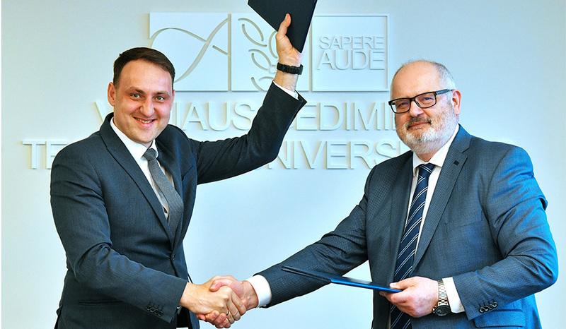 VGTU pasirašė bendradarbiavimo sutartį su Alytaus miesto savivaldybe