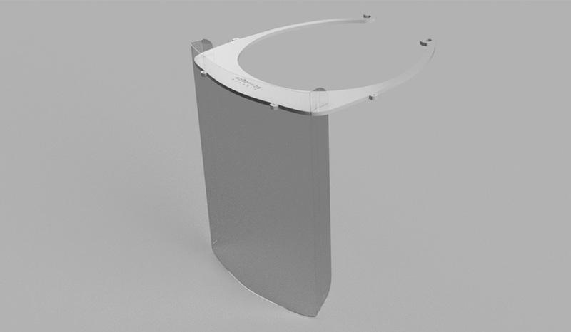 """VGTU """"LinkMenų fabrikas"""" ieško sprendimų kovai su COVID-19: gamina apsauginius veido skydelius"""