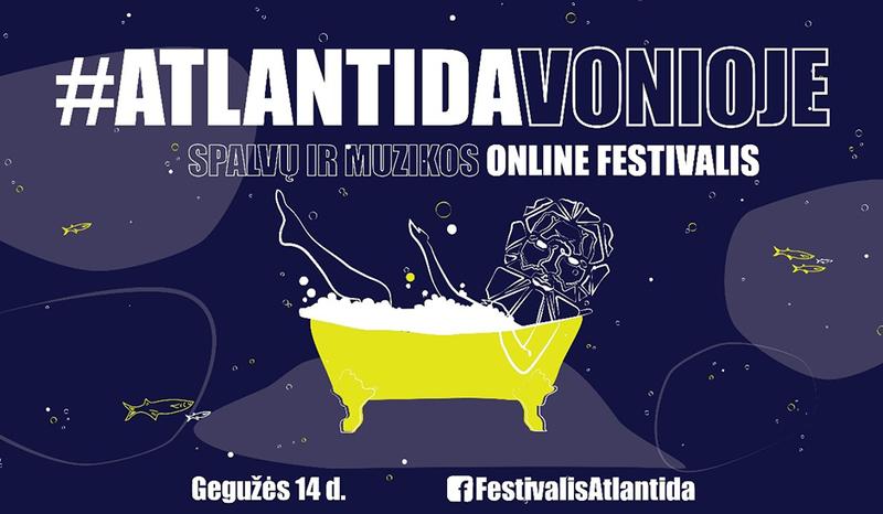 KIF studentai kviečia į online festivalį tiesiai iš vonios