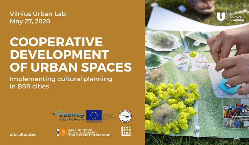 Dalyvauti kviečia Vilnius Urban Lab seminaras-dirbtuvės
