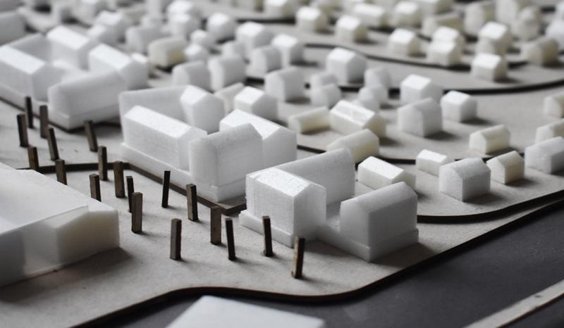 Architektūros fakulteto studentų baigiamųjų darbų  gynimai