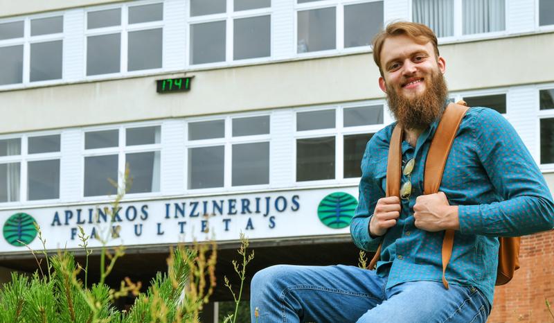 """Geodeziją studijuojantis Ignas Medžiaušis: """"Dvejoti, kad pritrūks žinių ar įgūdžių – neverta"""""""