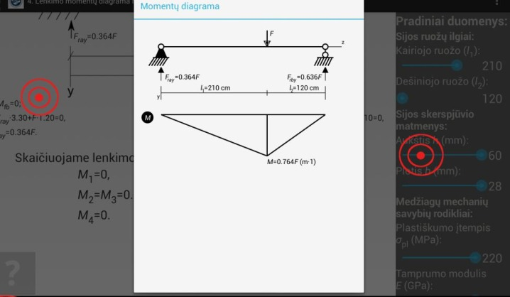 Sudėtingi virtualūs eksperimentai – VGTU studento programėlėje