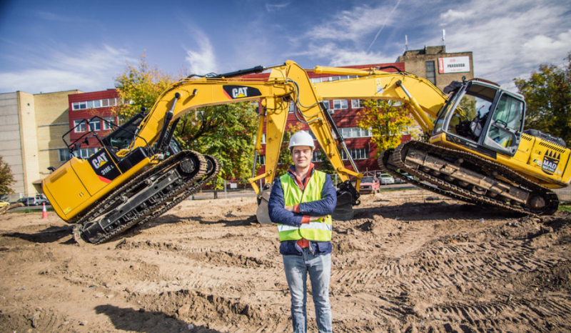 Kuriama valdymo sistema su intuityviu asistentu kompensuos statybų sektoriaus specialistų trūkumą
