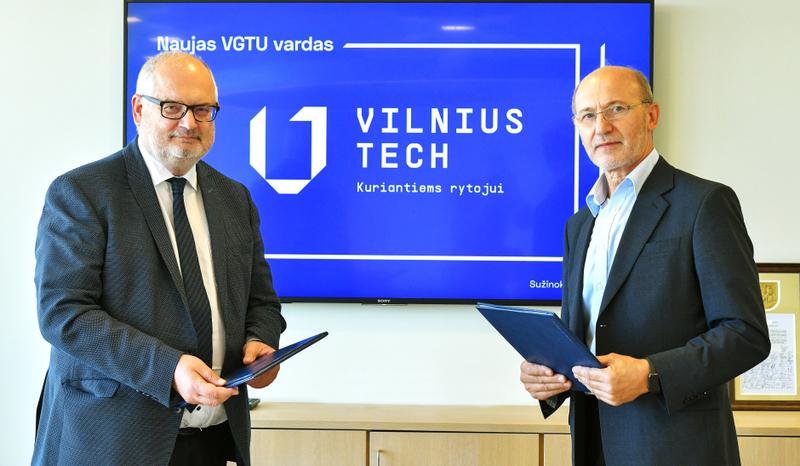 """Vilnius Tech sutartis su UAB """"Sistela"""": bendri planai ir stipendijos studentams"""