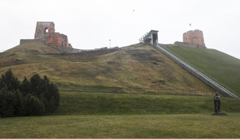 Baigus Gedimino kalno tyrinėjimus Vilnius Tech specialistai sukūrė 3D kalno modelį