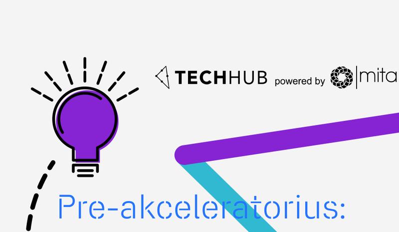 """Su mentorių pagalba augama greičiau: idėjas paversti realybe padės projektas """"TechHub"""""""