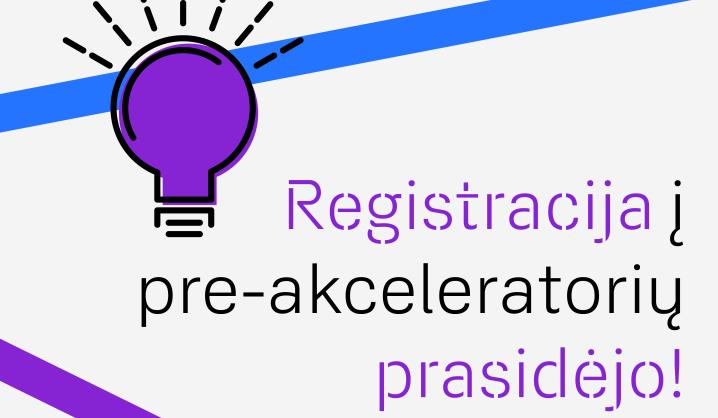 """Prasideda registracija į """"TechHub"""" startuolių pre-akceleratorių"""