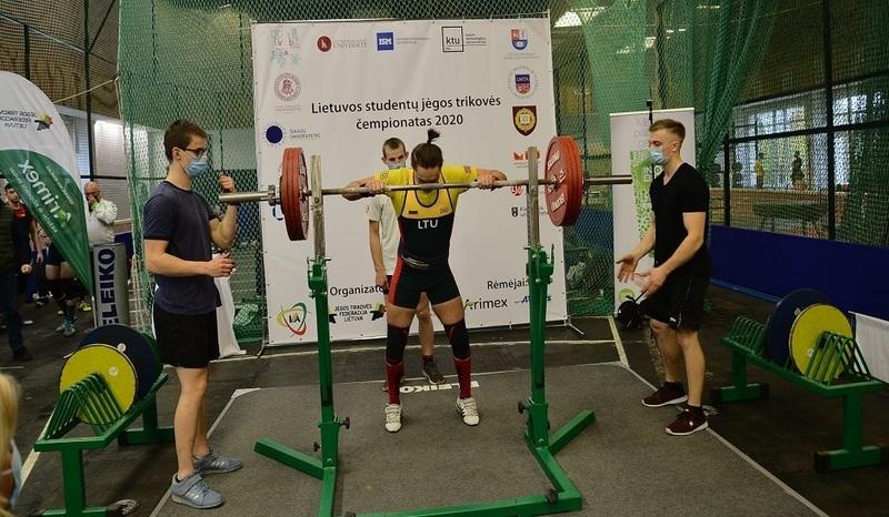 Lietuvos studentų jėgos trikovės čempionatas