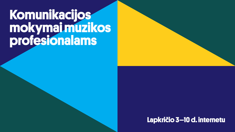 Lietuvos muzikos informacijos centras kviečia į komunikacijos mokymus muzikos profesionalams