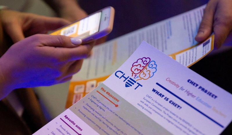 "VILNIUS TECH ""LinkMenų fabrikas"" hosted the first CHET project's multiplier event"