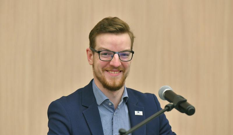 Išrinktas naujas VILNIUS TECH Studentų atstovybės prezidentas