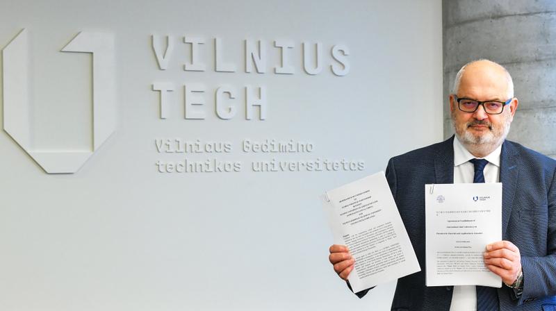 VILNIUS TECH pasirašė strateginės partnerystės ir jungtinės laboratorijos sutartis su NUAA universitetu
