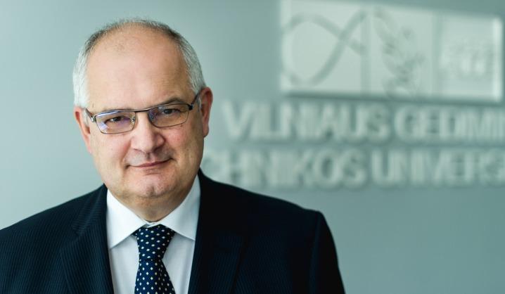VGTU rektoriaus Alfonso Daniūno šventinis sveikinimas