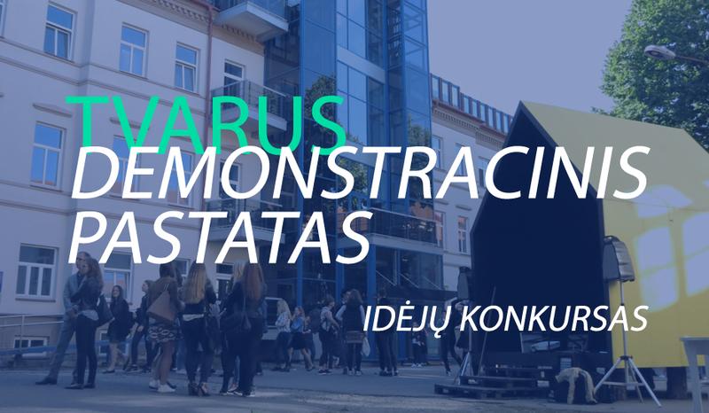Idėjų konkursas – TVARUS DEMONSTRACINIS NAMAS