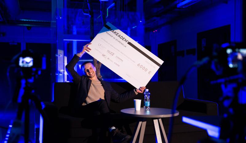 """6000 eur už kūrybiškumą: """"Makeademy"""" akademija pasiekė finišo tiesiąją"""