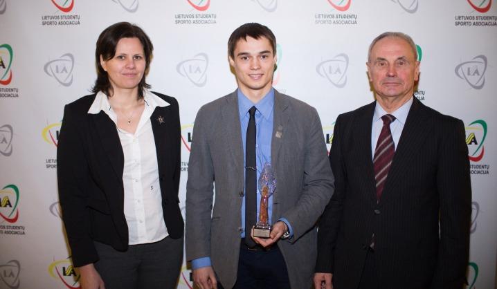 Geriausiu VGTU sportininku tapo studentas Paulius Pupinis