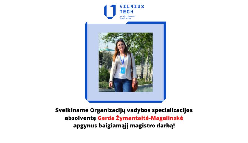 Verslo vadybos magistrantūra - Organizacijų vadybos specializacija