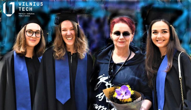 """Organizacijų valdymo studijų programos 2020 m. pirmos laidos absolventė Eleonora Ignatovičiūtė: """"Unikali programa atveria dideles karjeros galimybes"""""""