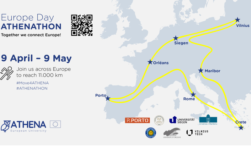 Europos dienai paminėti – kviečiame pajudėti