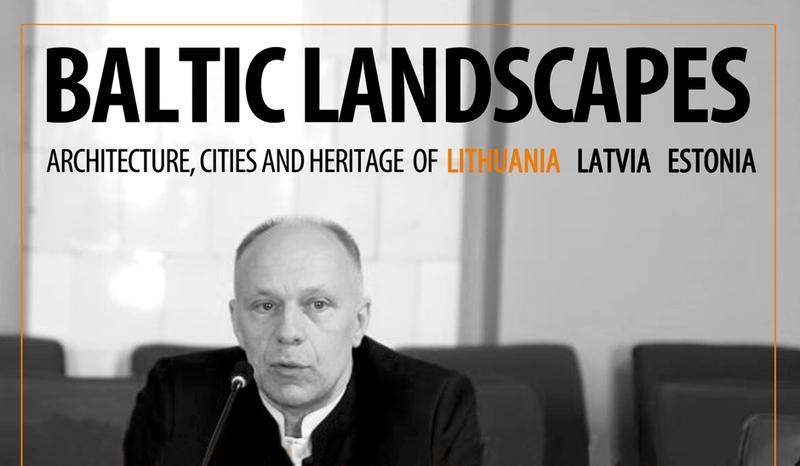 Romos Sapienza universiteto seminare – Architektūros fakulteto profesoriaus pranešimas
