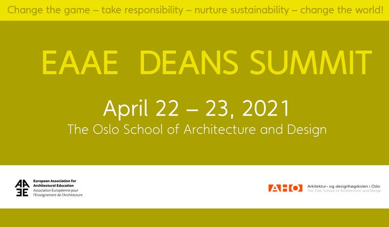 Architektūros fakulteto dekanas – pirmajame EAAE dekanų aukščiausiojo lygio susitikime