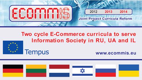 Projekto  Tempus ECOMMIS apžvalga