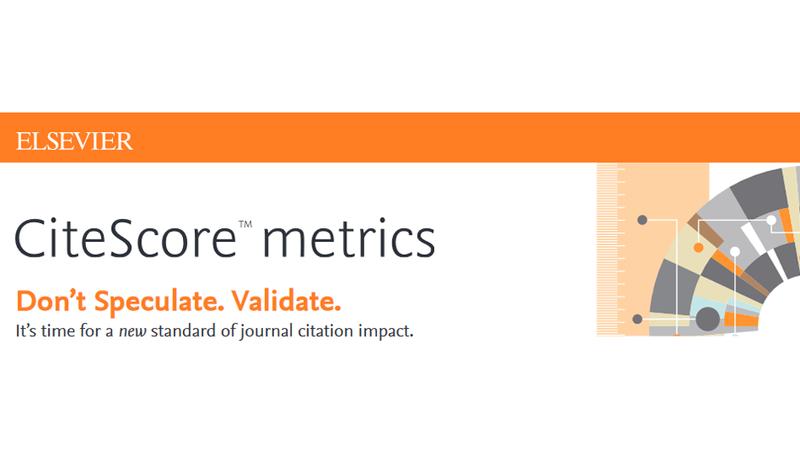 Naujausios CiteScore leidinių cituojamumo rodiklio reikšmės Scopus duomenų bazėje