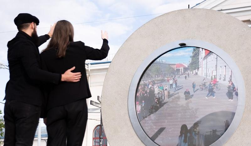 """Minint Pasaulinę pabėgėlių dieną """"Portalas"""" sujungs namus palikusius Baltarusijos gyventojus"""