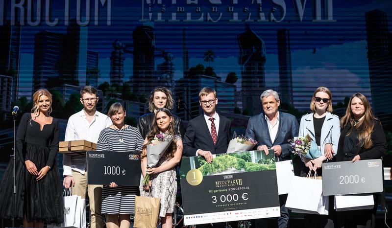 Išmanusis miestas VII nugalėtojai – VILNIUS TECH Architektūros fakulteto studentai