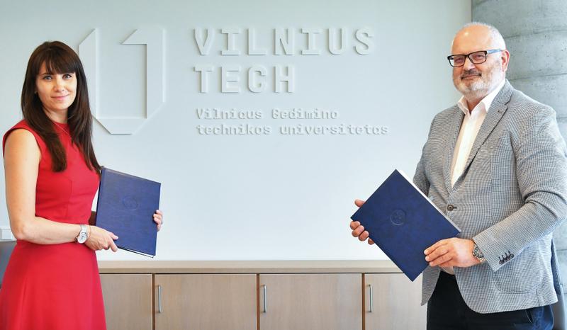 """VILNIUS TECH ir """"Metso Outotec Global Business Services"""" bendradarbiavimas: duris atvers Finansų laboratorija"""