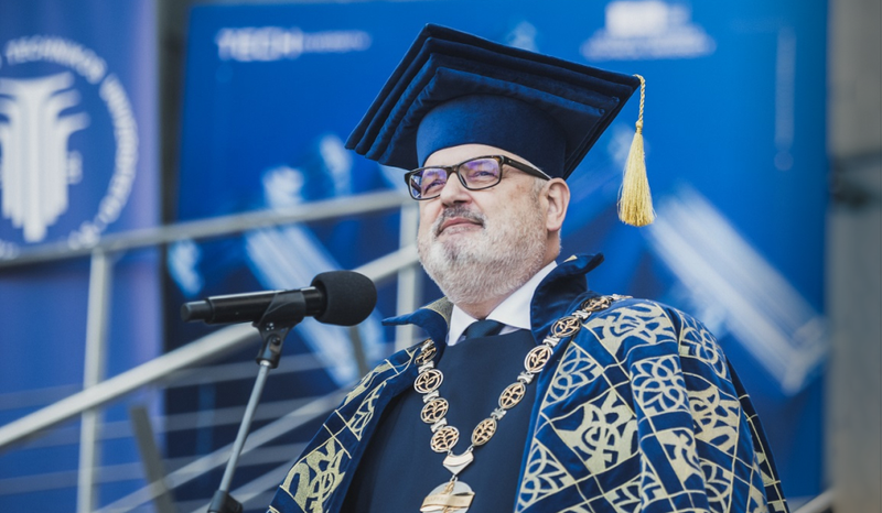 Vilnius Tech Rector's congratulations on the occasion of September 1