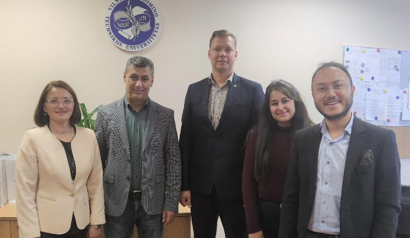 VILNIUS TECH Mechanikos fakultete lankėsi svečiai iš Afyon Kocatepe universiteto (Turkija)