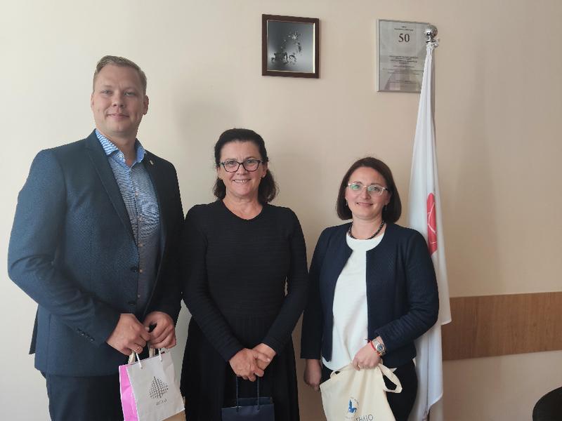 VILNIUS TECH Mechanikos fakultete lankėsi dr. Karmen Medea iš Pirėjaus taikomųjų mokslų universiteto