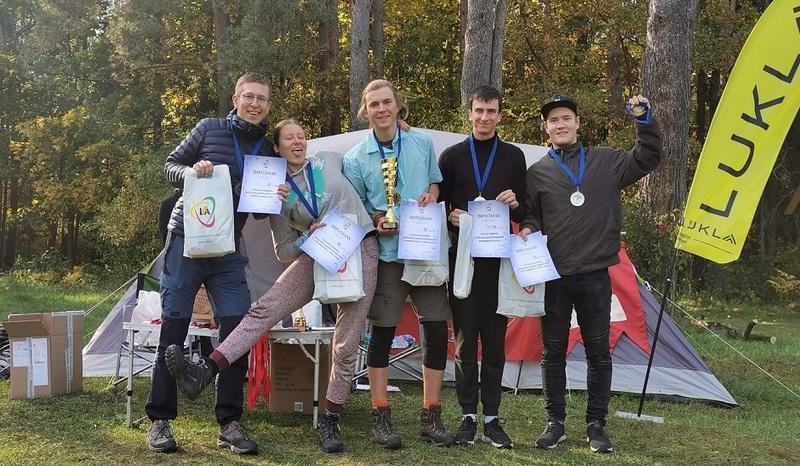 Lietuvos studentų keliautojų sporto čempionate VILNIUS TECH iškovota II-oji vieta