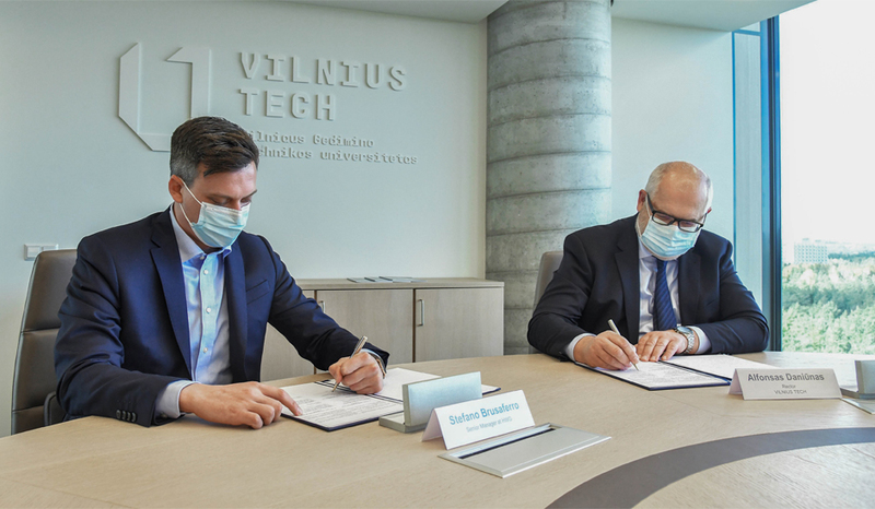 VILNIUS TECH and HWG are joining forces for IT Security education