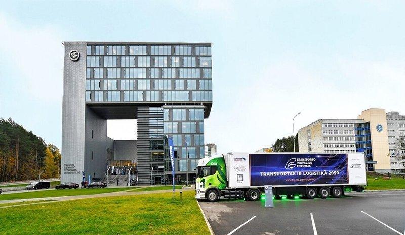 VILNIUS TECH vyksta Tarptautinis transporto inovacijų forumas