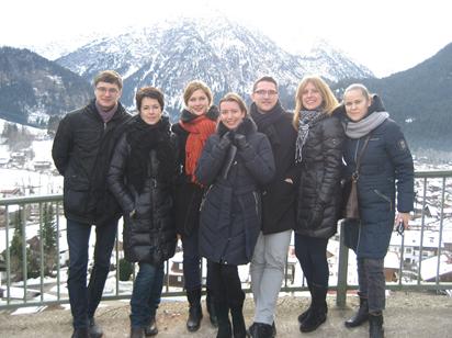 Verslo vadybos studentų komanda dalyvavo Heilbronn universiteto organizuotame tarptautiniame projekte