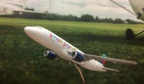 """VGTU Antano Gustaičio aviacijos institute – """"Small planet airlines"""" vadovų vizitas"""