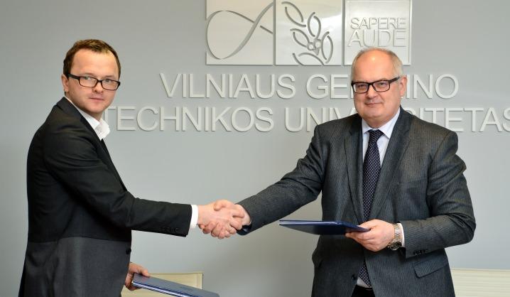 """VGTU bendradarbiaus su Baltijos šalyse pirmaujančia logistikos įmone """"Delamode Baltics"""""""