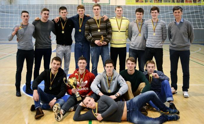 VGTU komanda triumfavo Lietuvos vyrų tinklinio Rytų-Vakarų zonų finale