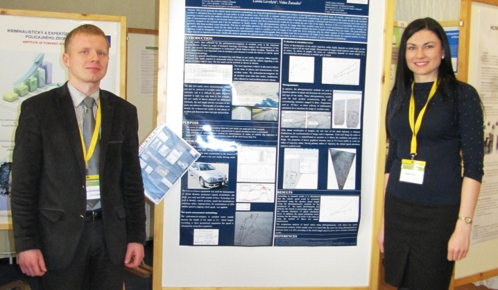 VGTU mokslininkai dalyvavo tarptautiniame teismo ekspertų simpoziume