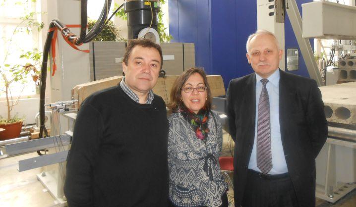 Statybos fakultete lankėsi svečiai iš Madrido