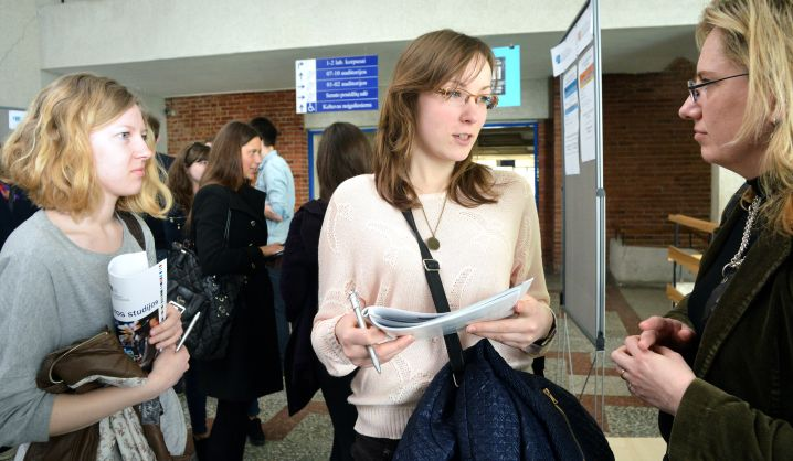 VGTU atvėrė duris besidomintiems magistrantūros studijomis